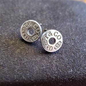 Tiffany & Co circle ear rings